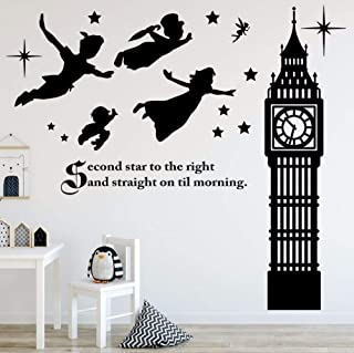 Adesivi Murali Peter Pan.Amazon It Adesivi Murali Peter Pan