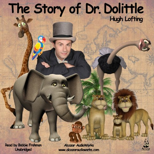 『The Story of Dr. Dolittle』のカバーアート