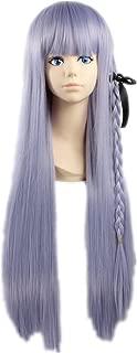 COSPLAZA Cosplay Wigs Halloween Long Light Blue/Purple Party Anime Hair (Blue/Purple)