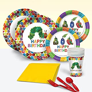 Shindigz Hungry Caterpillar Basic Party Pack for 8