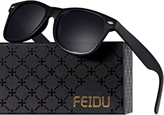 Polarized Sunglasses for Men Retro - FEIDU Polarized...