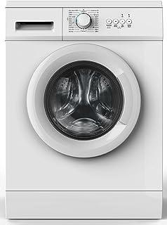Amica WA 14681 W Waschmaschine Freistehend Frontlader Weiß 6 kg 1000 RPM A - Waschmaschinen Freistehend, Frontlader, Weiß, Drehregler, Links, LED