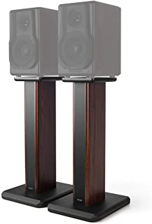 Edifier Speaker Stands for S3000PRO 25.6 inch Hollowed Stands for Optional Sand Filling Tuning- Wood Grain Easy Assembly E...