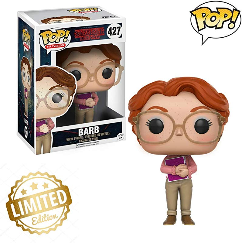 POP Television Stranger Things Barb Toy Figure Limited Edition