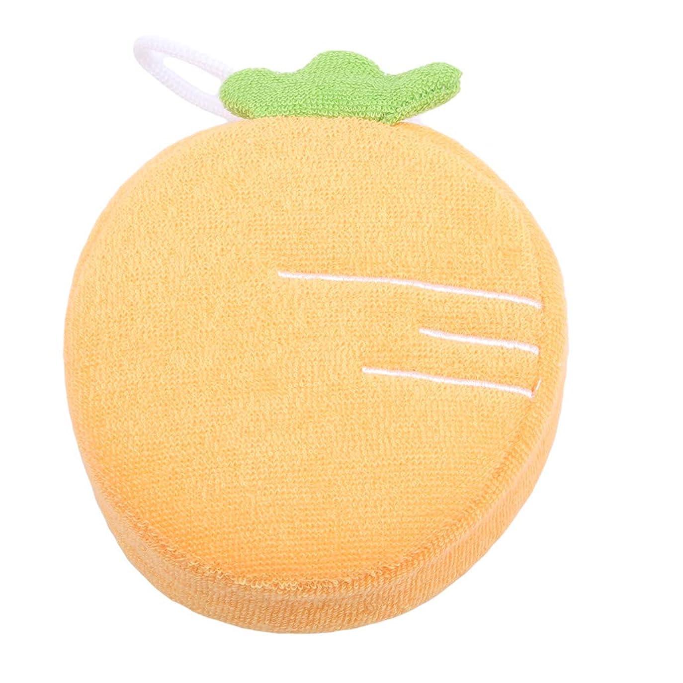 センター規模結果MARUIKAO ボディスポンジ ソフト かわいい 果物形 垢すりスポンジ ウォッシュ 入浴 シャワー用 マッサージ 毛穴清潔 角質除去 男女兼用 バス用品 柔らか