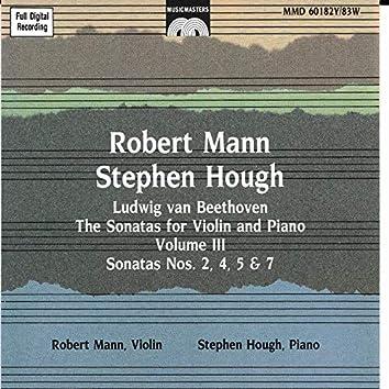 Beethoven: The Sonatas for Violin and Piano, Vol. 3