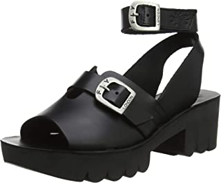 ffddea8532 Fly London Womens CANO433FLY Bridle Leather Sandals