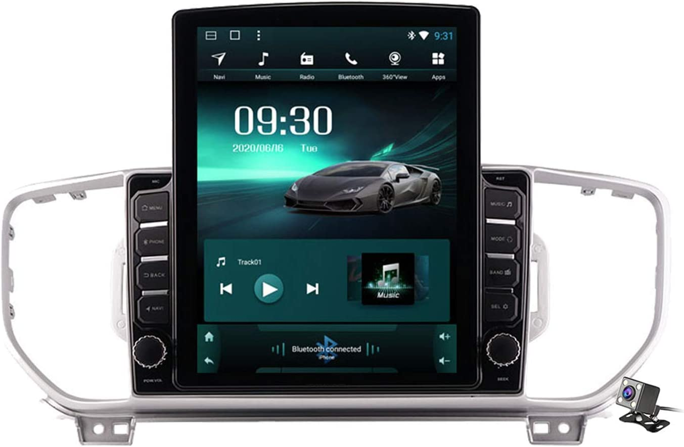 Car Stereo Android Max 73% OFF 9.0 Radio for Kia specialty shop 2016-2018 GPS Sportage KX5