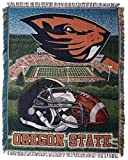 Oregon State Beavers 'Home Field Advantage' Woven Tapestry Throw Blanket, 48' x 60'