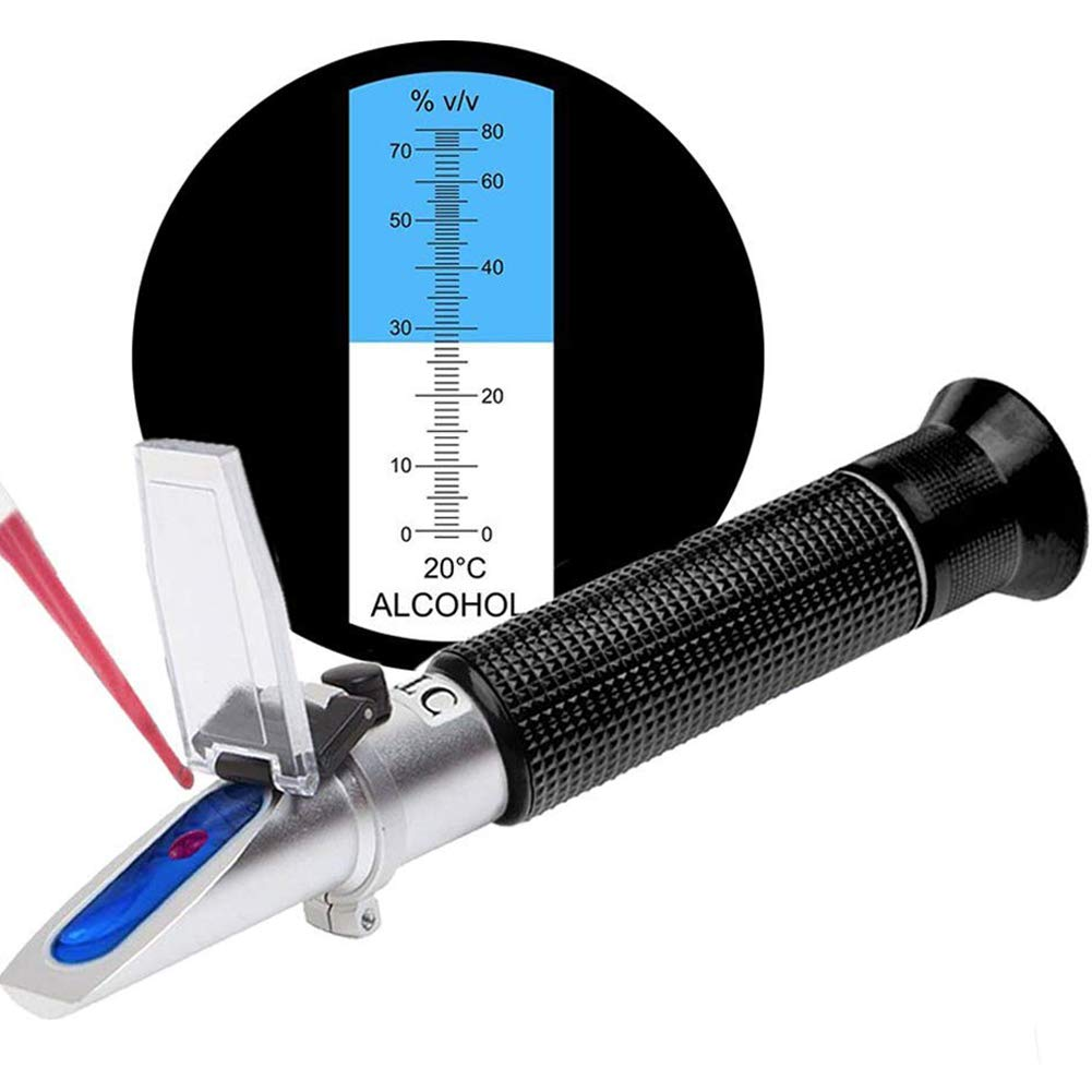 SMARTSMITH 2021 spring and summer new Alcohol Refractometer for Volume Perce Spirit Classic