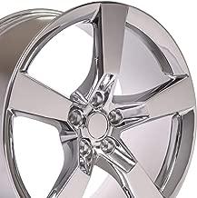 OE Wheels 20 Inch Fits Chevy Camaro 10-2018 SS Style CV11 20x9 Rims Chrome SET
