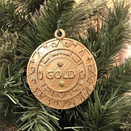 Set für weise Männer, Gold, Weihrauch und Myrrhe, Requisiten/Dekoration, Weihnachtskrippe, Weihnachtsbaum (1 Gold)