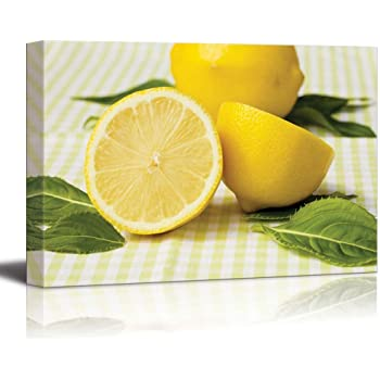 Natural Lemons Art Print Home Decor Wall Art Poster