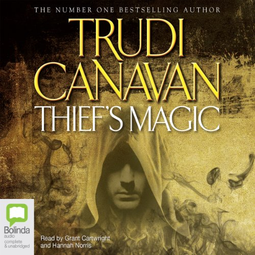 Thief's Magic audiobook cover art