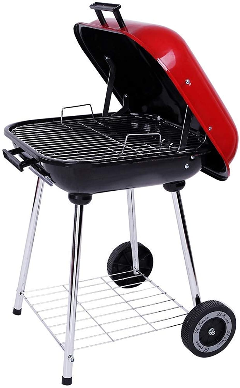 2fd0ffe295131 BBQ Supplies Barbecue BBQ Outdoor Folding Charcoal Grill People ...