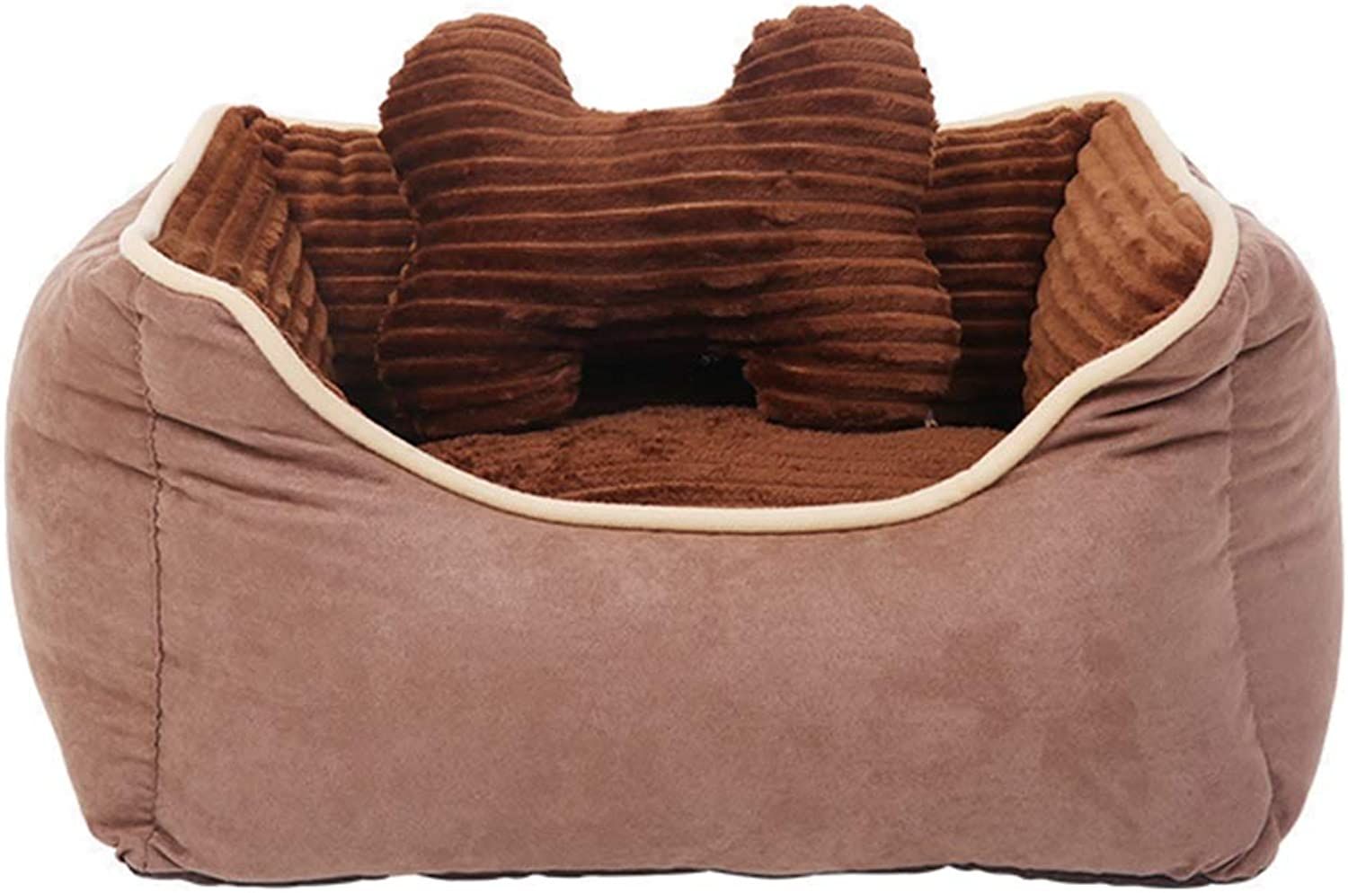 Kennel Removable and Washable Four Seasons Universal Cat Pet Mat LargeMediumSmall Dog Winter Warm Pet Nest (Size   L)