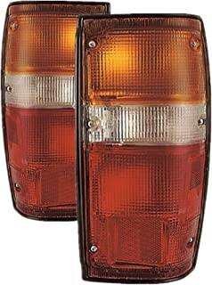 For Toyota Pickup Truck 2/4Wd 4Runner Outer Tail Light 1984 1985 1986 1987 1988 Driver and Passenger Side Taillamp Assembly Replacement