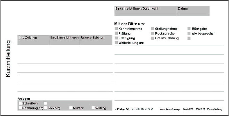 10er Pack Kurzmitteilung Kurzbrief Kurzanschreiben - 10 Blöcke á 100 Blatt 1 3 DIN A4, Kurzanschreiben Kurznotiz B00ZFLEDV6 | Realistisch