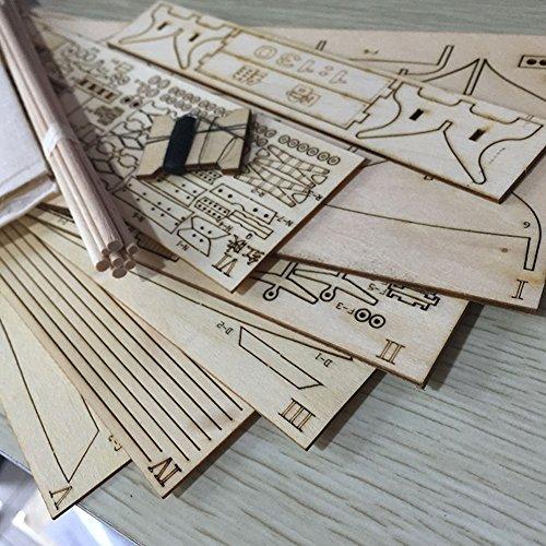 Montage-Kits Bau-Modell Boot Spielzeug aus Holz für Segelboote Harvey-Modell Voile montiert in Holz Kit Basteln