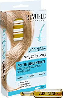 """REVUELE AMPOULES ACTIVE HAIR CONCENTRATE """"ARGININE+ MAGICALLY LONG"""" 8х5 ml"""