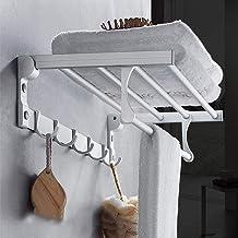 XINHU Badkamer Handdoekenrek Aluminium Wandgemonteerde Opslag Rack (Kleur: A)