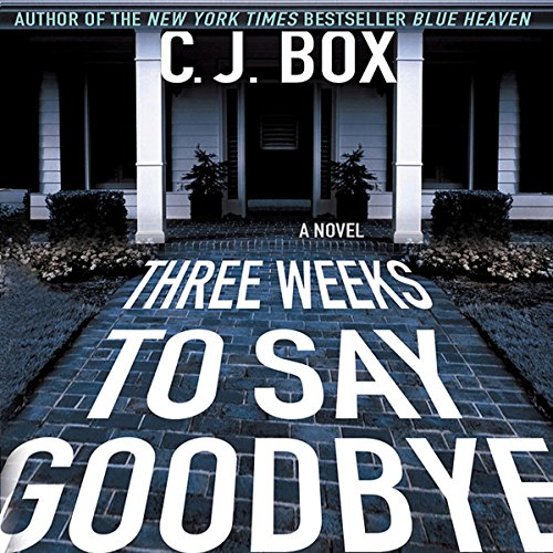 Three Weeks to Say Goodbye audiobook cover art