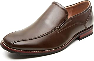 Men's Dress Loafers Formal Leather Lined Slip-on Shoes
