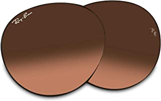 Ray-Ban Original ROUND METAL RB3447 Replacement Lenses For Men For Women+FREE Complimentary Eyewear Care Kit