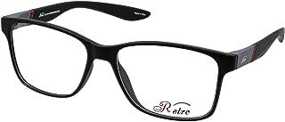 نظارة طبية باطار كامل بلون اسود/رمادي سي: 4 ام من ريترو 4020، (سو)