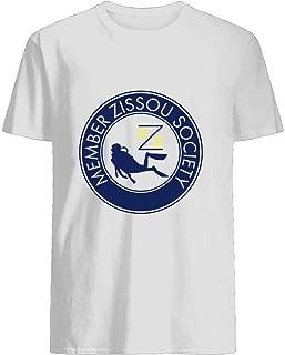 Miembro de la Sociedad Zissou 29 Cotton short sleeve T shirt, Hoodie for Men Women Unisex