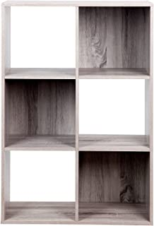 PACHIRA E-Commerce Wooden Storage Cubes Bookcase, Unit Shelf, Closet Cabinet, DVD Rack Bookshelf File Organizer Rack in Li...