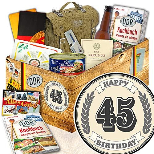 45. GeburtstagsGeschenk NVA Paket / Geschenke 45 Geburtstag Männer / NVA Set