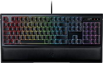 Razer Ornata Chroma - Teclado Gaming, Estándar con USB, Alámbrico, Interruptor de Membrana,Teclas de Membrana, ES Layout, Color Negro