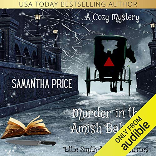 Murder in the Amish Bakery audiobook cover art