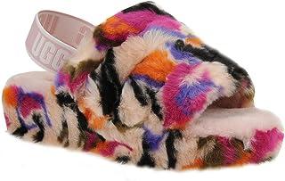 fffe948c01b Amazon.com: ugg fur slides for women