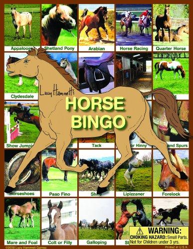 Lucy Hammett Games Horse Bingo Board Game