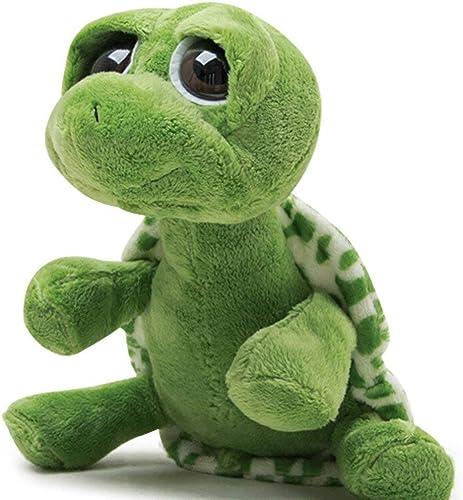Daxiong 25 cm Ojos Grandes Lindos Tortuga verde Suave muñeca de Peluche de Juguete Precioso Aniñal Marino Almohada cojín,80cm
