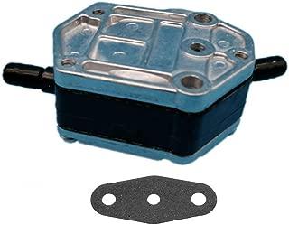 Tuzliufi Replace Fuel Pump Yamaha Suzuki Tohatsu Nissan 2 Stroke Outboard 25HP 30HP 40HP 55HP 60HP 70HP 75HP 85HP 90HP 115HP 40MLHZ 40TLR 50TLR 70TLR 90TJRZ 90TLR B90TLR C30EL C40 C55 C60 C70 C75 Z16