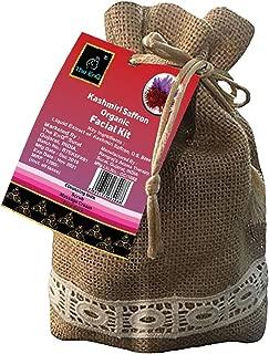 The EnQ Kashmiri Saffron Organic Facial Kit 280gm