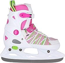 Nils Extreme NH2255 schaatsen ijshockey in grootte verstelbaar wit