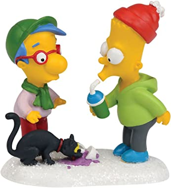 Department 56 The Simpson's Village Snowball Scores a Squishee Accessory Figurine, 2.56 inch