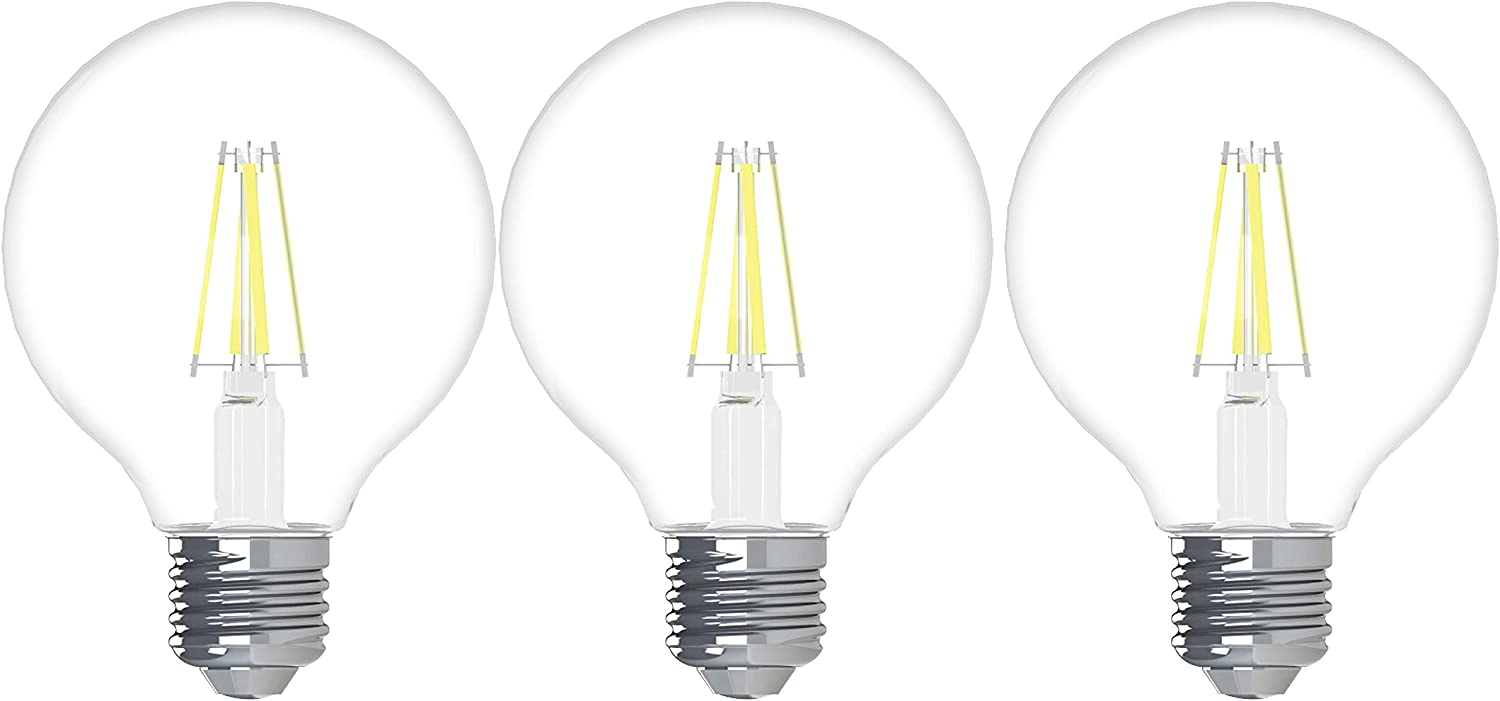 Beauty products GE Lighting Refresh Under blast sales HD LED Globe 3 60W Replacement Light Bulbs