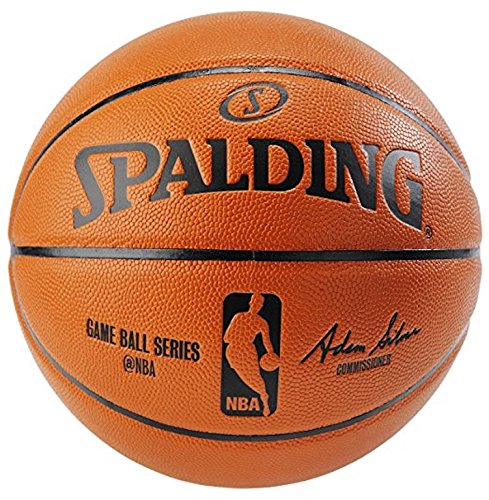 Save %9 Now! Spalding NBA Indoor/Outdoor Official Size Replica Game Ball (Official Size 7 (29.5) Bu...