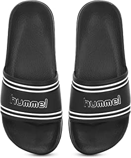 hummel Pool Retro Black Unisex Slides