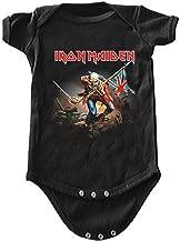 ill Rock Merch Iron Maiden The Trooper Baby Romper T-Shirt