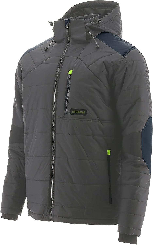 最安値に挑戦 Caterpillar Men's Crowbar Jacket Outerwear Shadow Dark 新色追加 L