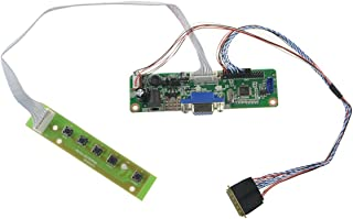 NJYTouch V.M70A VGA LCD LVDS Controller Board Kit for HSD100IFW1-A00 1024×600 LCD Screen