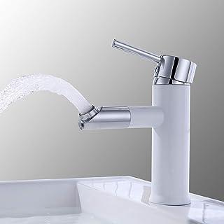 61w2Un9AvmL. AC UL320  - Grifos de lavabo blanco