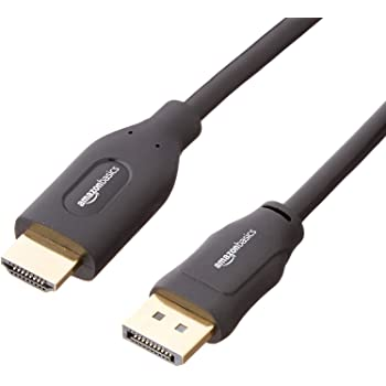 AmazonBasics Uni-Directional DisplayPort to HDMI Display Cable - 6 Feet