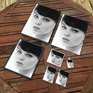 Yvonne Craig - Original Art Gift Set #js001 (Includes - A4 Canvas - A4 Print - Coaster - Fridge Magnet - Keyring - Mouse M...
